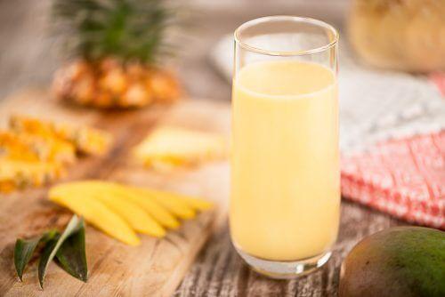 Smoothie mangue et ananas